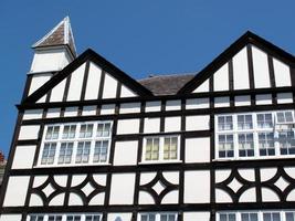 vecchie case tudor foto
