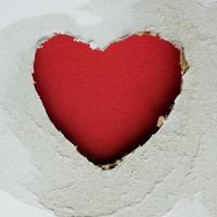 a forma di cuore