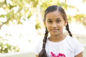 bella ragazza teenager indiana foto