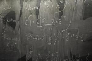 lezione di matematica foto