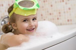 bagno con schiuma