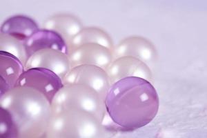 perle da bagno foto