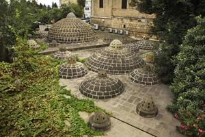 bagni pubblici mehellesi a baku. azerbaijan foto