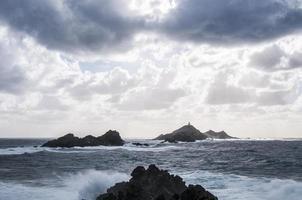 tempête aux îles sanguinaires