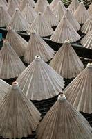 fabbrica dell'ombrello della Tailandia Chiang Mai foto