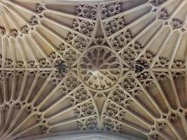 soffitto dell'abbazia del bagno foto
