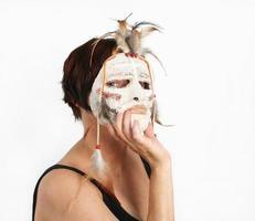 la maschera foto