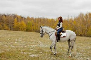 passeggiate a cavallo foto