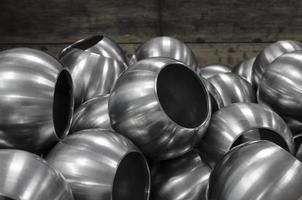 sfere d'acciaio foto