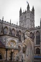statua romana, abbazia di Bath