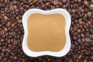 polvere di caffè foto