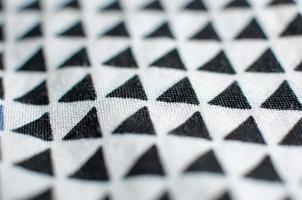 trama del modello tessuto triangolo foto