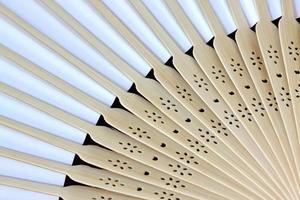 modello di ventaglio pieghevole giapponese. foto