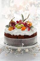 torta di frutta di Natale
