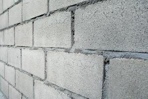modello di muro di mattoni bianchi foto