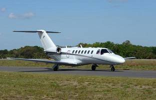 airpplane jet aziendale foto