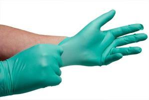 guanti medicali senza lattice foto