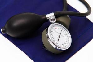 apparecchiatura medica del misuratore di pressione sanguigna foto