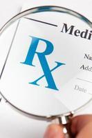 medicina di prescrizione foto