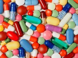 sfondo di medicina foto