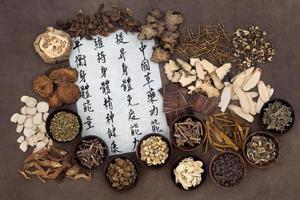 medicina di erbe cinese
