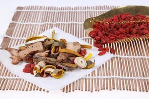 medicina di erbe cinese foto