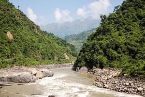 giungla nepalese foto