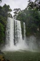 la giungla cade a misol ha, chiapas vicino a palenque. Messico. foto