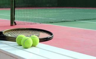campo da tennis. foto