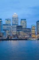 Grattacielo ufficio commerciale, edificio aziendale in Canary Wharf, Londra, Inghilterra,