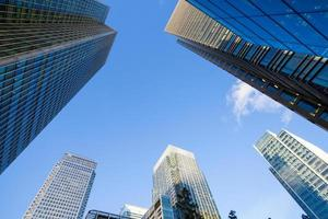 grattacielo ufficio commerciale, edificio aziendale nella città di londra, inghilterra, regno unito foto