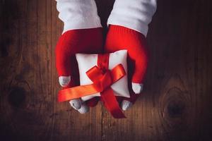 regalo della vigilia di Natale foto