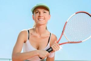campo da tennis foto