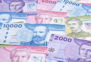 pesos cileni foto