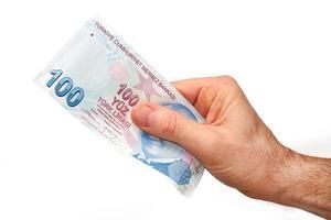 valuta turca foto