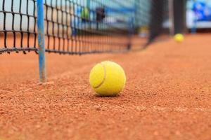 palla da tennis foto