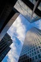 grattacielo ufficio commerciale, edificio aziendale in Canary Wharf, Londra, Inghilterra