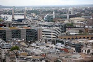 Londra dalla Cattedrale di San Paolo, Regno Unito foto