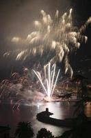 fuochi d'artificio recco italia foto