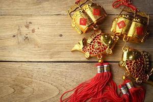 decorazione cinese di nuovo anno foto