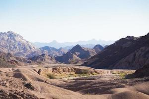 deserto del Sinai foto