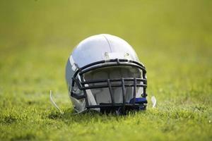 casco da football americano foto