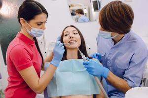 visita dal dentista foto