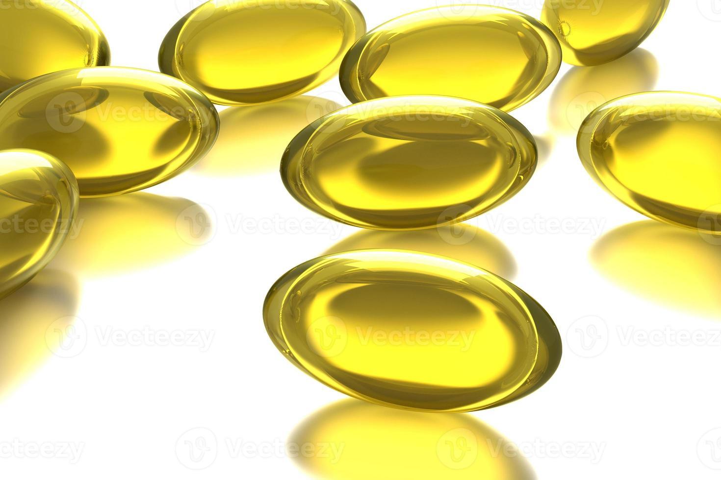 pílulas amarelas foto