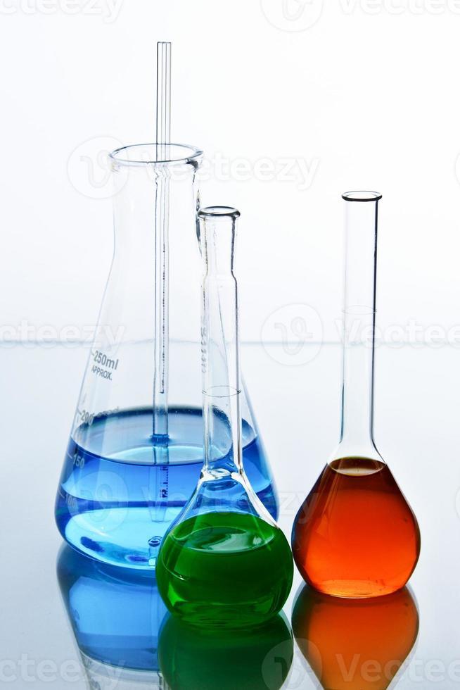 vidraria de laboratório foto