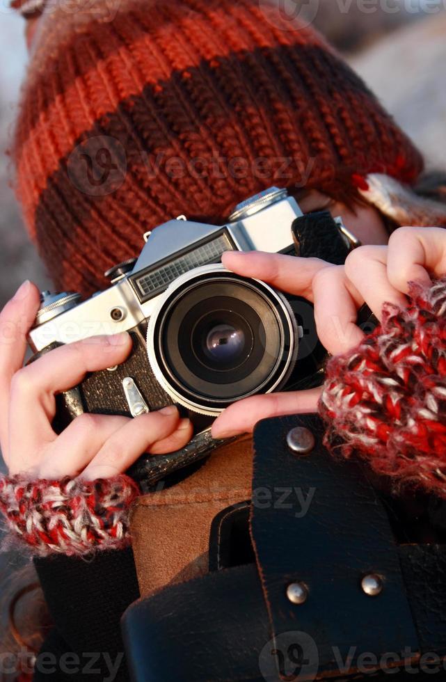 fotógrafo oldschool foto