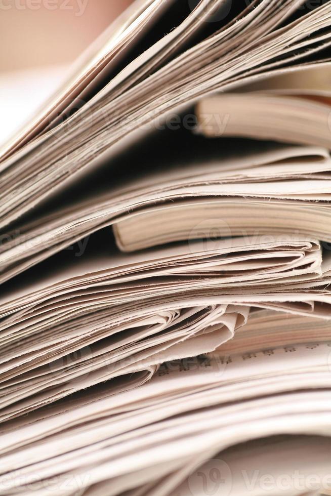papel carta de notícias foto