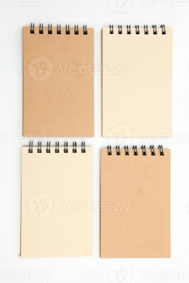 pequenos cadernos foto