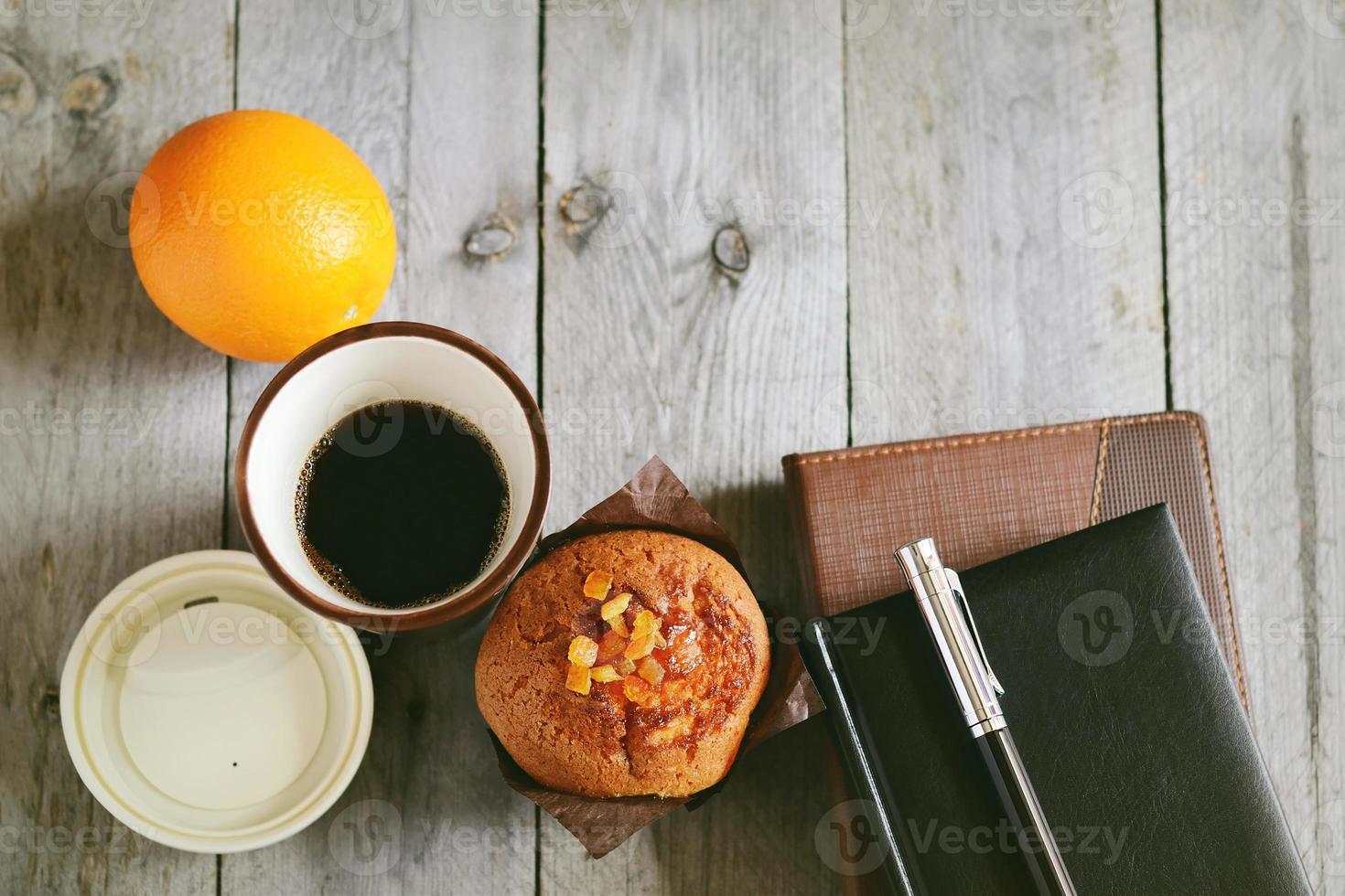 pausa para café no trabalho foto