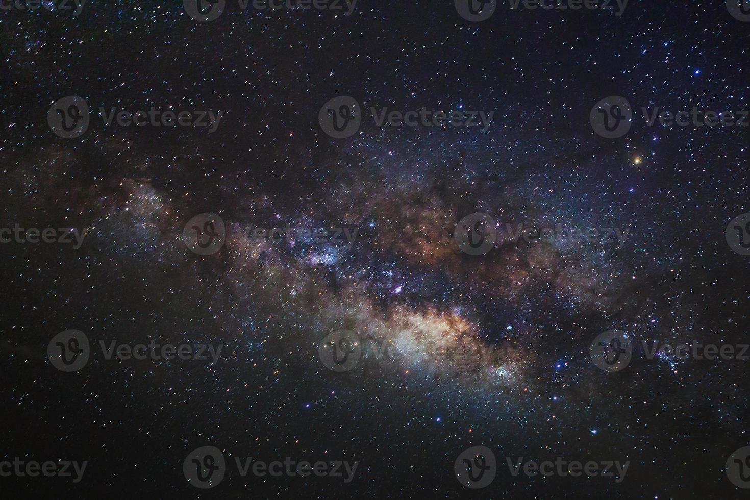 via Láctea. fotografia de longa exposição foto